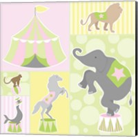 Baby Big Top III Pink Fine Art Print