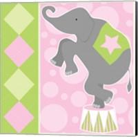 Baby Big Top IX Pink Fine Art Print