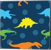 Dinopolooza V Fine Art Print
