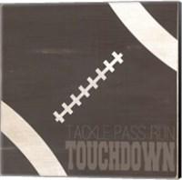 Tackle, Pass, Touchdown Fine Art Print