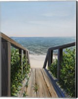 Beach Walk Way Fine Art Print