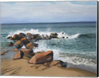 Block Island Wave Fine Art Print
