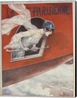 Artdeco Airplane Lavie Parisienne Fine Art Print