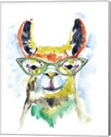 Smarty-Pants Llama Fine Art Print