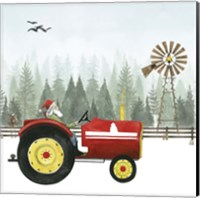 Country Santa II Fine Art Print