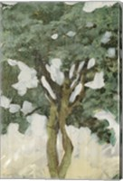 Green Tree Line III Fine Art Print