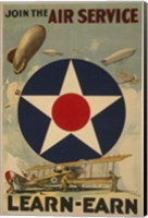 Air Service Fine Art Print