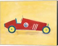 Race Car 6 Crop Fine Art Print