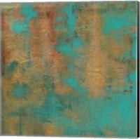 Rustic Elegance Square I Fine Art Print