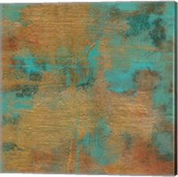Rustic Elegance Square II Fine Art Print
