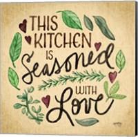 Kitchen Memories I (Kitchen seasoned) Fine Art Print