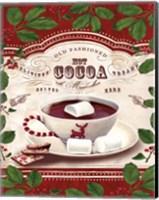 Hot Cocoa Old Fashioned Fine Art Print