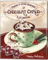 Hot Cocoa Mint Fine Art Print