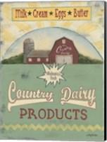 Country Dairy Fine Art Print