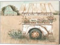 Fresh Flowers for Sale Fine Art Print