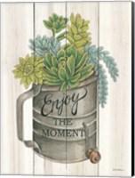 Enjoy the Moment Succulents Fine Art Print