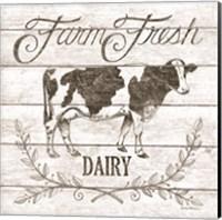 Farm Fresh Dairy Fine Art Print