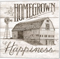 Homegrown Happiness Fine Art Print