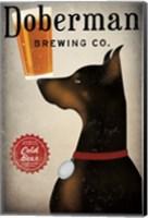 Doberman Brewing Company Fine Art Print