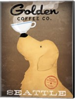 Golden Coffee Co Fine Art Print