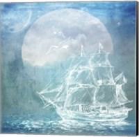 Sailor Away Ship 1 Fine Art Print