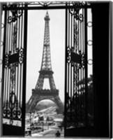 1920s Eiffel Tower Built 1889 Fine Art Print
