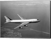 1960s Boeing 747 In Flight Fine Art Print