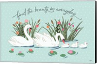 Swan Lake I Mint Fine Art Print