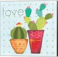 Southwest Cactus III Fine Art Print