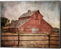 York Road Barn Fine Art Print
