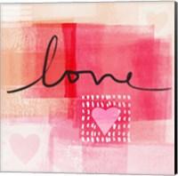 Love I Fine Art Print