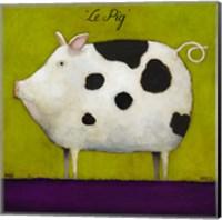 Le Pig II Fine Art Print