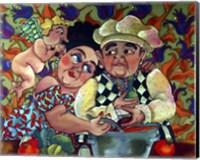 Soup Lovers Fine Art Print