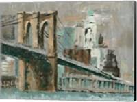 Brooklyn Bridge Cityscape Fine Art Print