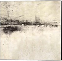 Reflection in Ebony Square Fine Art Print