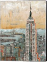 Empire State Building Abstract Fine Art Print