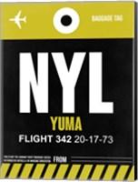 NYL Yuma Luggage Tag II Fine Art Print