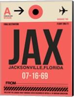 JAX Jacksonville Luggage Tag I Fine Art Print