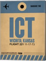 ICT Wichita Luggage Tag I Fine Art Print