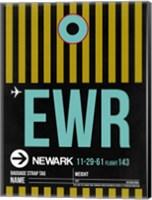 EWR Newark Luggage Tag II Fine Art Print