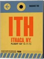 ITH Ithaca Luggage Tag I Fine Art Print