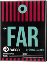FAR Fargo Luggage Tag I Fine Art Print