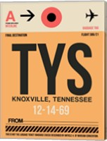 TYS Knoxville Luggage Tag I Fine Art Print