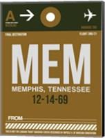 MEM Memphis Luggage Tag I Fine Art Print
