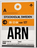 ARN Stockholm Luggage Tag I Fine Art Print