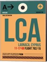 LCA Cyprus Luggage Tag I Fine Art Print