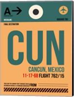 CUN Cuncun Luggage Tag I Fine Art Print