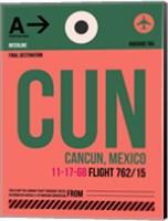CUN Cuncun Luggage Tag II Fine Art Print