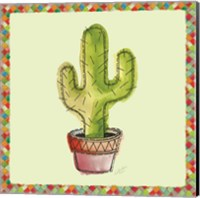 Rainbow Cactus II Fine Art Print