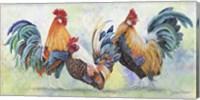 Watercolor Rooster - E Fine Art Print